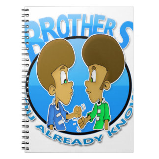 brothers note books