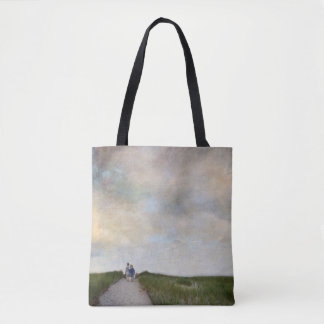 brothers photograph tote bag