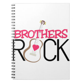 Brothers Rock Spiral Note Books