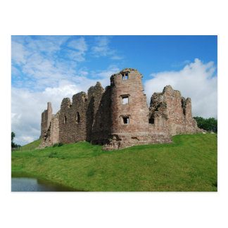 Brough Castle Postcard