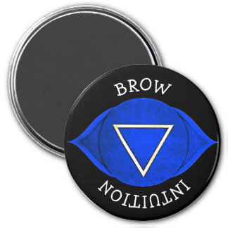 Brow Intuition Blue Chi Chakra Magnet