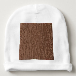 Brown Abstract Background Baby Beanie