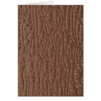 Brown Abstract Background Card