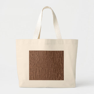Brown Abstract Background Large Tote Bag