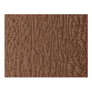 Brown Abstract Background Postcard