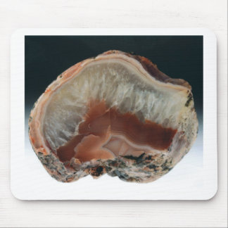 Brown Agate Mouse Pad
