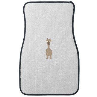 Brown Alpaca Car Carpet