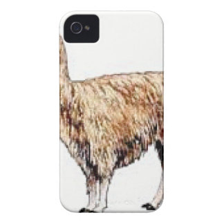 Brown Alpaca iPhone 4 Case-Mate Case