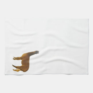 Brown Alpaca Kitchen Towel