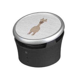 Brown Alpaca Speaker
