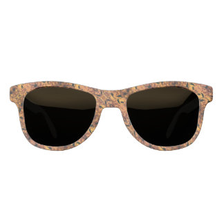Brown And Black Autumn Design Sunglasses