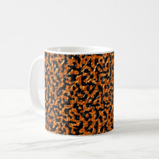 Brown and Black Lizard Coffee Mug