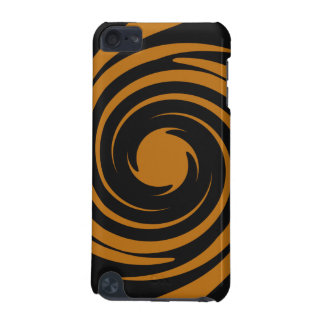 Brown and black swirl iPod touch 5G case