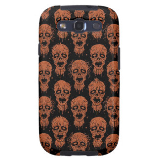 Brown and Black Zombie Apocalypse Pattern Samsung Galaxy S3 Cover
