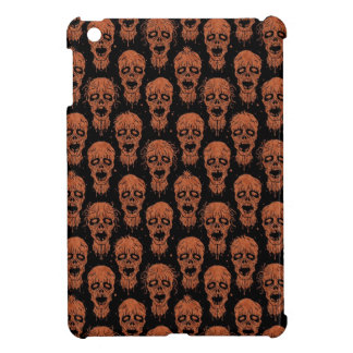 Brown and Black Zombie Apocalypse Pattern iPad Mini Cases