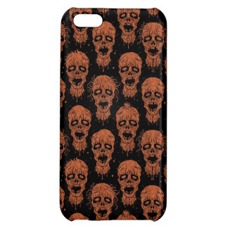 Brown and Black Zombie Apocalypse Pattern iPhone 5C Cover