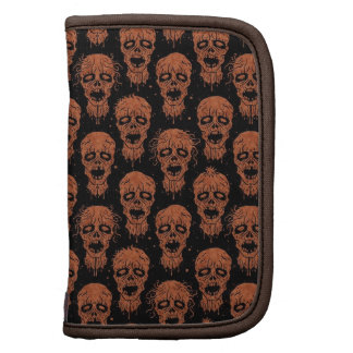 Brown and Black Zombie Apocalypse Pattern Planner