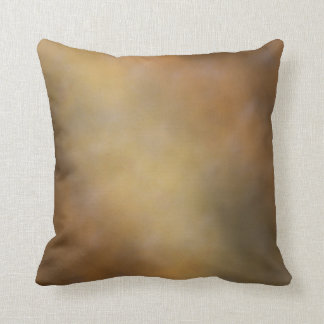 BROWN AND GOLD PILLOW