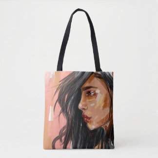 Brown and proud tote bag