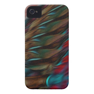 Brown And Red Abstract iPhone 4 Case-Mate Case