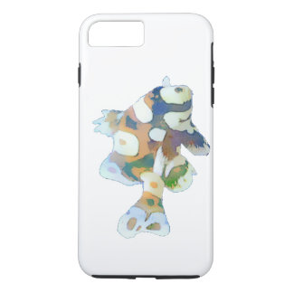 Brown and white Fish Watercolor iPhone 8 Plus/7 Plus Case