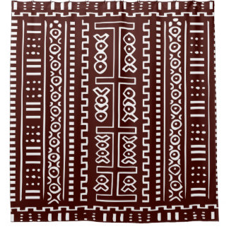 Brown and White Mud Cloth