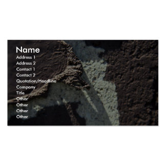 Brown And White Wall (Peeling) Business Card Templates