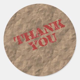 Brown Bag Sticker