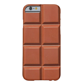 Brown Bar of Chocolate Barely There iPhone 6 Case