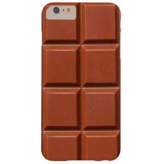 Brown Bar of Chocolate Barely There iPhone 6 Plus Case