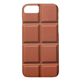 Brown Bar of Chocolate iPhone 8/7 Case