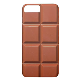 Brown Bar of Chocolate iPhone 8 Plus/7 Plus Case