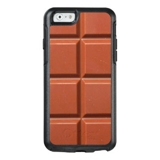 Brown Bar of Chocolate OtterBox iPhone 6/6s Case
