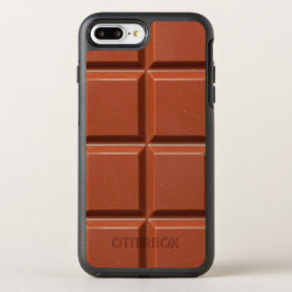 Brown Bar of Chocolate OtterBox Symmetry iPhone 8 Plus/7 Plus Case