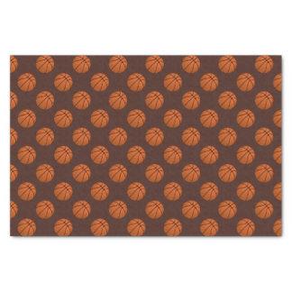 Brown Basketball Balls on Brown Tissue Paper