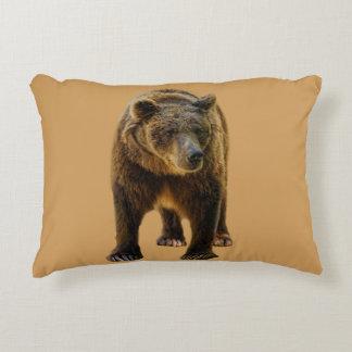 Brown Bear Accent Pillow
