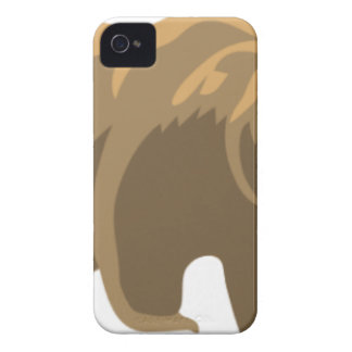 Brown Bear Drawing Case-Mate iPhone 4 Case