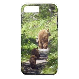 Brown Bear Family iPhone 8 Plus/7 Plus Case