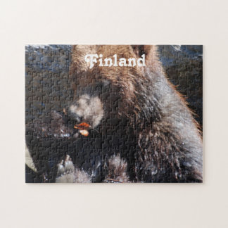 Brown Bear in Finland Jigsaw Puzzle