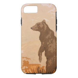 Brown Bear iPhone 8/7 Case