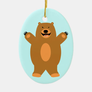 Brown Bear Ornament