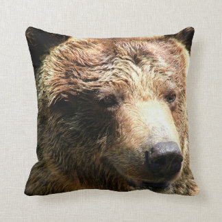Brown Bear Pillow Cushion