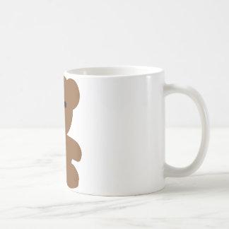 brown bear teddy - cute coffee mug
