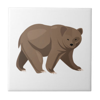 Brown Bear Tile