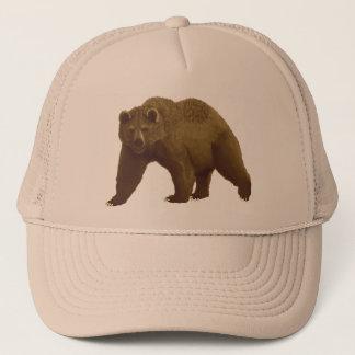 Brown Bear Trucker Hat