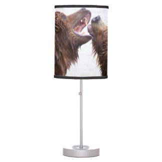 Brown Bears Table Lamp