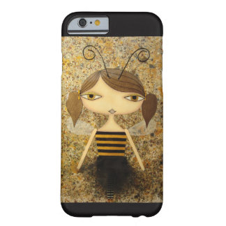 """Brown Bee Girl"" iPhone 6/6S Case! Barely There iPhone 6 Case"