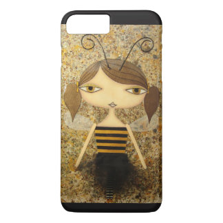 """Brown Bee Girl"" iPhone 7 Plus Case! iPhone 8 Plus/7 Plus Case"