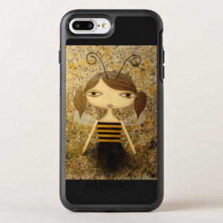 """Brown Bee Girl"" iPhone 7 Plus OtterBox!"