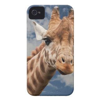 Brown Beige and White Giraffe iPhone 4 Case-Mate Case